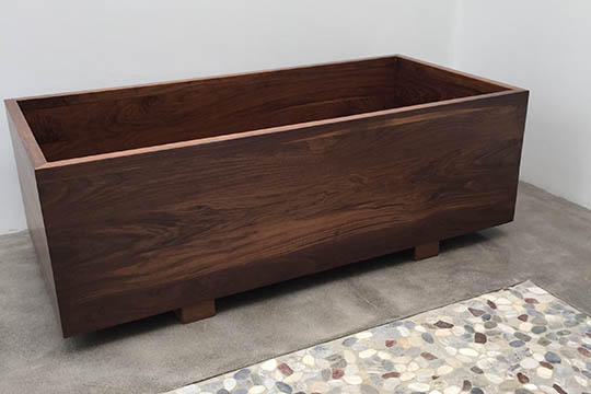 Japanese Ofuro in DeepSealed™ Walnut